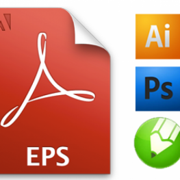 Mở file EPS trong Corel, Illustrator và Photoshop