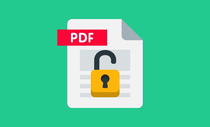 Xóa mật khẩu file PDF